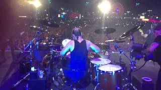 Metallica - Lars In Slow Motion - Rock In Rio 2015 - Wherever I May Roam