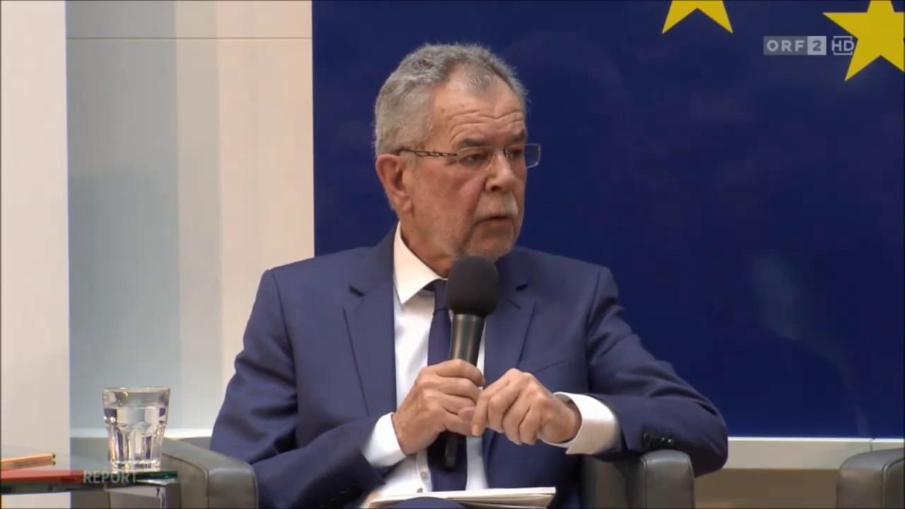 Bundespräsident Alexander van der Bellen: Kopftuch für alle Frauen!