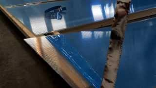 Greenhouse Build: Sealing Greenhouse Polycarbonate panels to save on winter heating bills