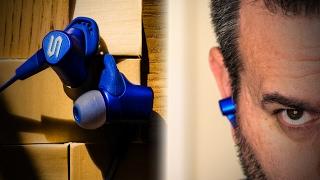 Bluetooth earphones with BASS!! SOUL RUN FREE PRO HD