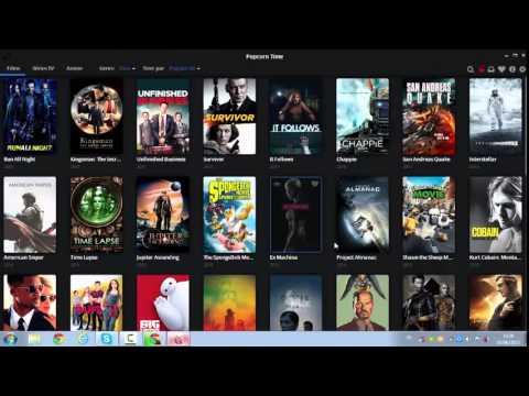 مشاهدة اخر افلام 2015 بجودة عالية  Popcorn Time