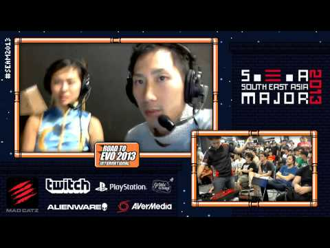 SEAM 2013 Final Day - Tokido, Leslie [SSF4 AE 2012] Part.1