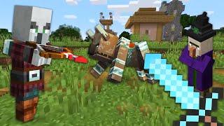 Видео обзор - Майнкрафт РЕЙД: самые опасные мобы! – Обновления игры Minecraft в Гейм шоу с Нубом