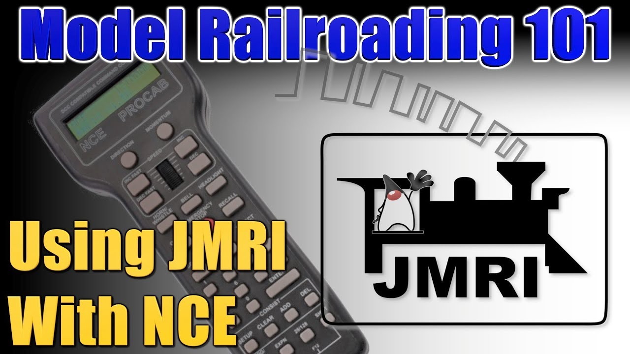 Model Railroading 101 Ep 22 Using JMRI With NCE MR101