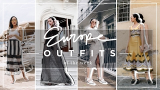 Outfits of the Week + VLOG: London, Cannes, Rome   Chriselle Lim thumbnail