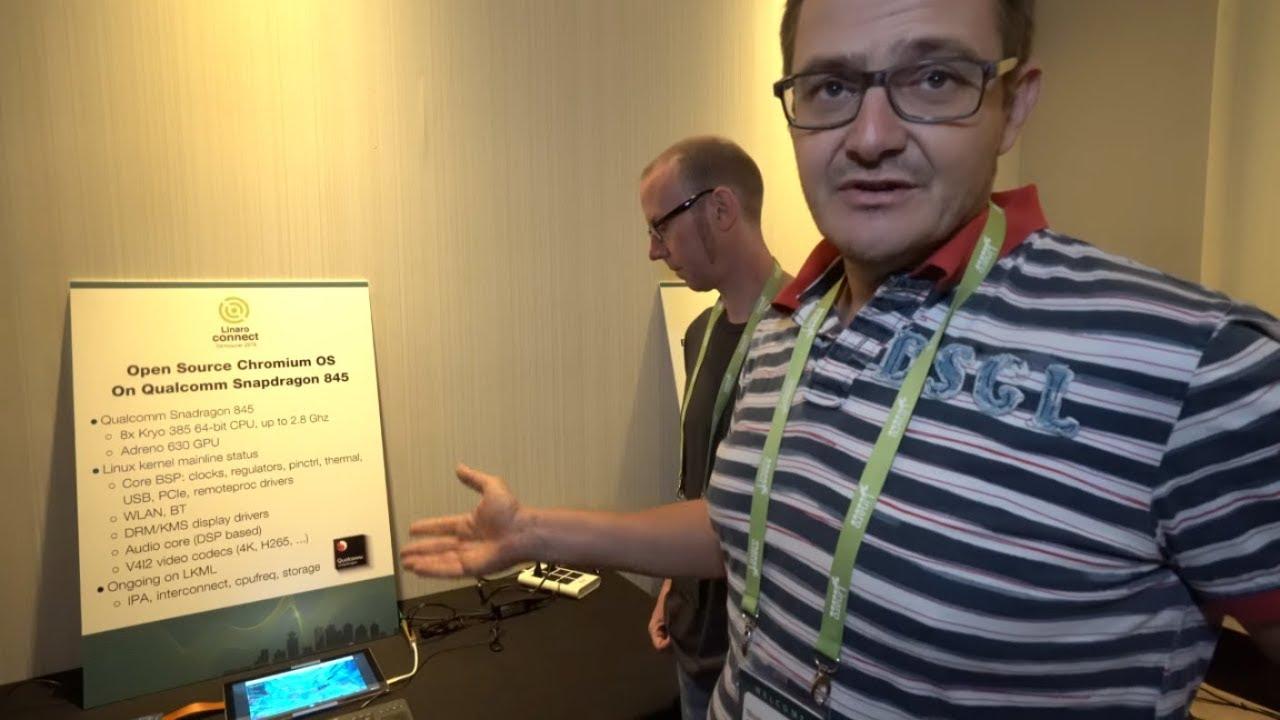 Chromium OS on Snapdragon 845