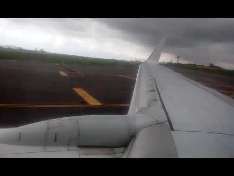 Takeoff from Accra Rwand air