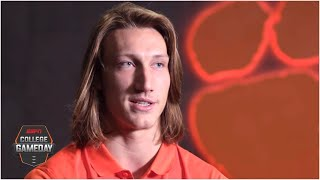 Trevor Lawrence on speaking up for justice and playing for Clemson this season | College GameDay