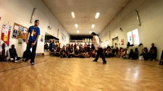 """Battle Popping """"Shake Your Pants 2011"""" - Alexy Vs Amour - Final"""