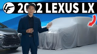 TEASED! The 2022 Lexus LX 600 is Coming This Year...