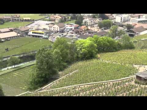 Leysin - Aigle Train Ride (SWITZERLAND)