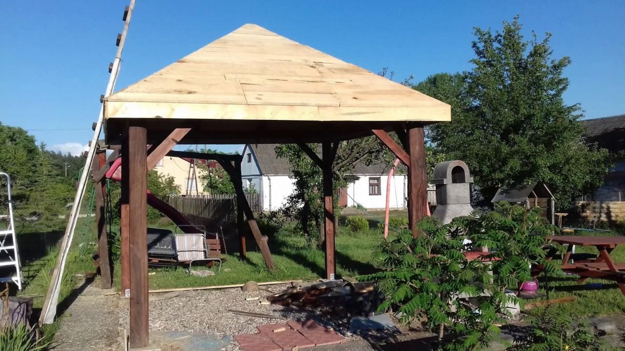Budowa Altany Ze Starego Drewna Cz2