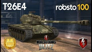 SuperPershing T26E4 Ace Mastery Gameplay - WOT World of Tanks Blitz - robsto100