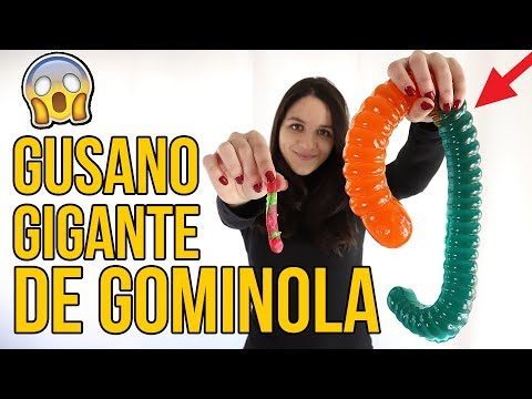Gominola GIGANTE vs NORMAL