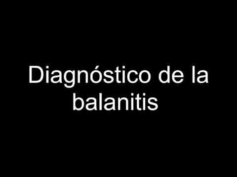 Diagnóstico de la balanitis