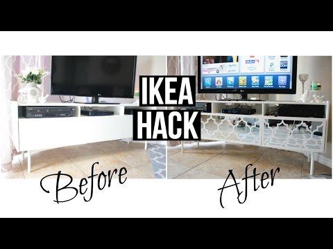 Ikea Hack - Mirrored TV Stand