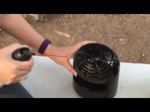 How to clean Vornado Flippi fan in minutes