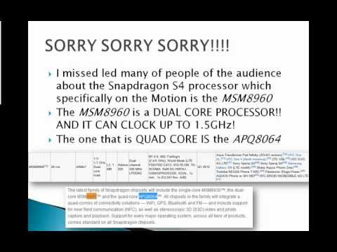 metroPCS News- Snapdragon S4 processor on the LG Motion 4G(CLARIFICATION)