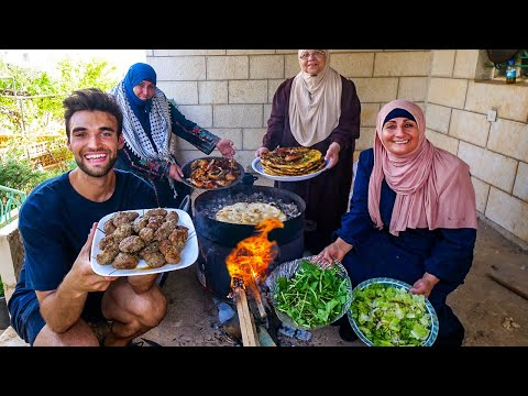 LIVING with a PALESTINIAN FAMILY in THE WEST BANK! (WHAT THE