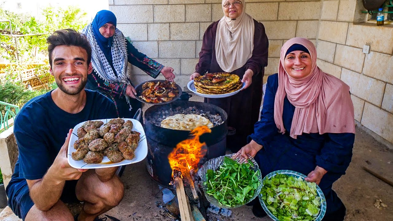 LIVING with a PALESTINIAN FAMILY in THE WEST BANK! (WHAT THE NEWS WON'T SHOW YOU!!)