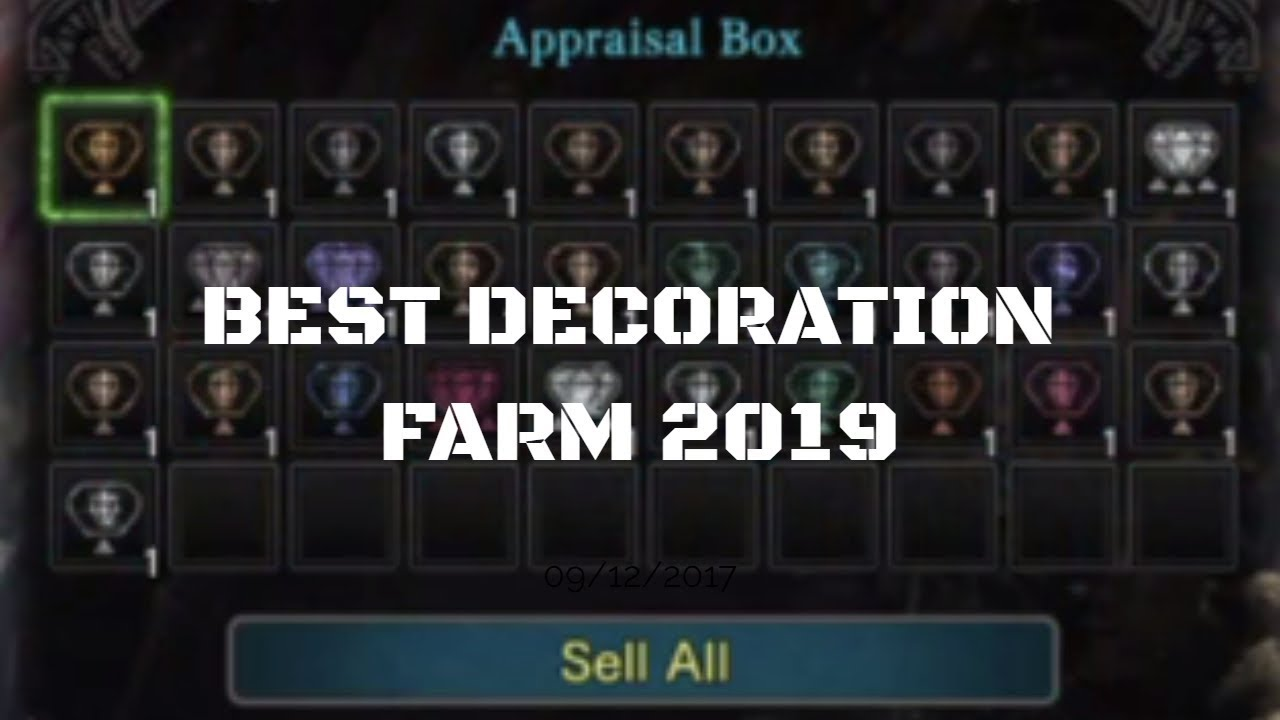 Decoration Farming Mhw