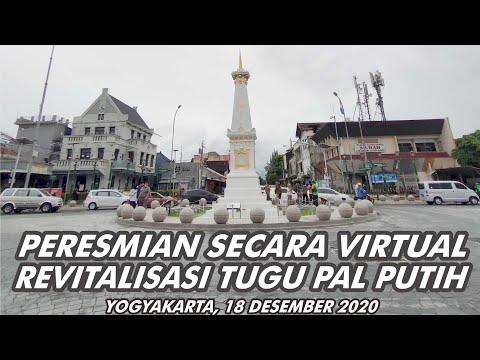 PERESMIAN SECARA VIRTUAL REVITALISASI TUGU PAL PUTIH JOGJA