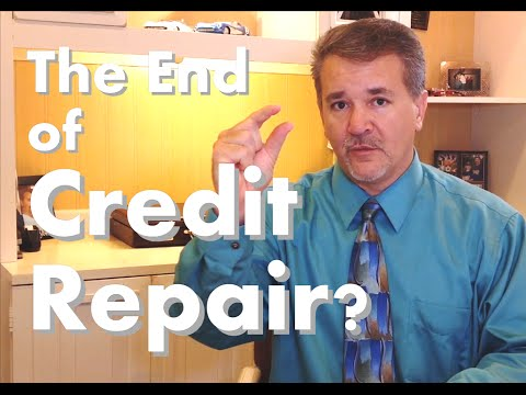 The End of Credit Repair Industry? or the beginning of the credit score revolution? Review