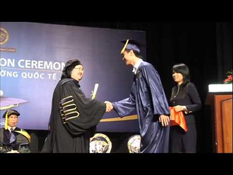 2012 APU Graduation Ceremony - Students Receiving Diplomas