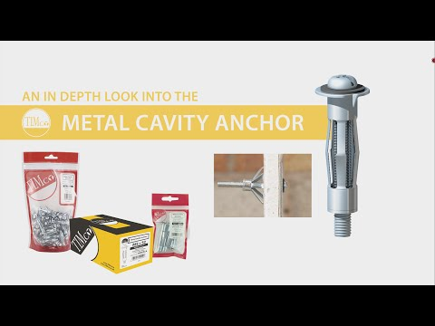 TIMco Metal Cavity Anchor - How To Guide