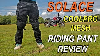 My New Solace CoolPro Mesh Riding Pant Review