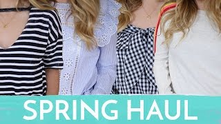 HUGE Spring TRY-ON HAUL! | Fleur De Force