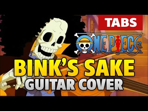 One Piece OST – Binks Sake guitar cover (acoustic fingerstyle tabs by Kaminari)