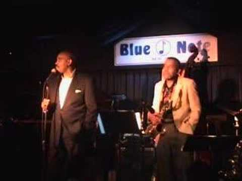 Allan Harris Quartet live at the Blue Note