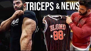 Día en el almacén - Entrenamiento 4 ejercicios favoritos de triceps