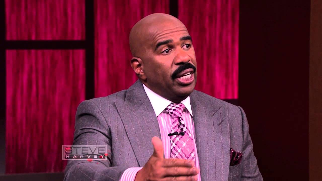 Steve Harvey: How To Be A Father