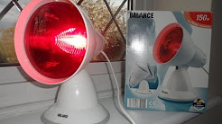 HOW TO HELP YOURSELF WITH BACK OR NECK PAIN, THIS INFRA RED LAMP REALLY HELPED ME