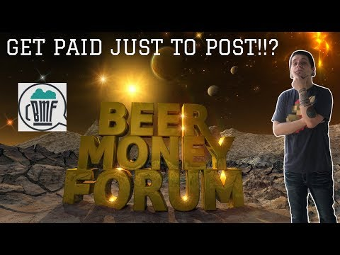 LEARN TO MAKE MONEY | PLUS MAKE MONEY WHILE YOU LEARN | BEERMONEYFORUM