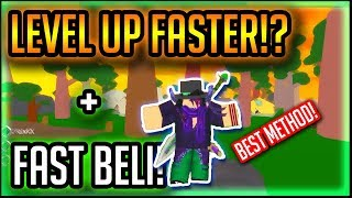 HOW TO LEVEL UP FASTER!?| ONE PIECE DESTINY | Roblox | OPD