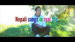 NEPALI SONGS IN REAL LIFE l MANIP RAI