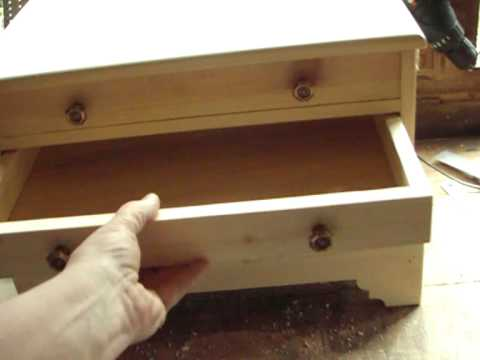... Yankee Workshop - 3 drawer chest - woodworking DIY project - YouTube