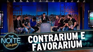 Contrarium e Favorarium: Murilo critica gemidão do zap | The Noite (02/08/17)