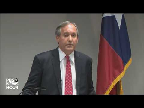 Texas Attorney General Paxton addresses state