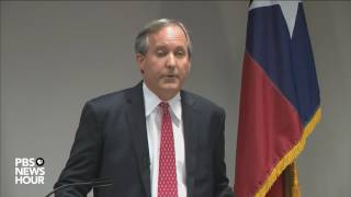 Texas Attorney General Paxton addresses states lawsuit against Obama administration
