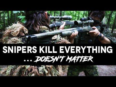 Snipers KILL everything ... Doesn't matter - Battle for Erene