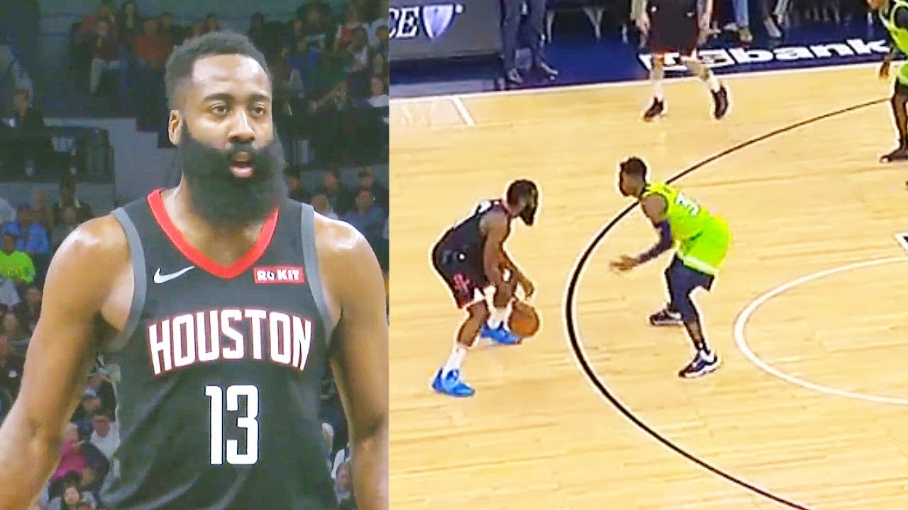James Harden Turns Game Into His Own 3 Point Shooting Contest For Crazy 49 Points vs Timberwolves!