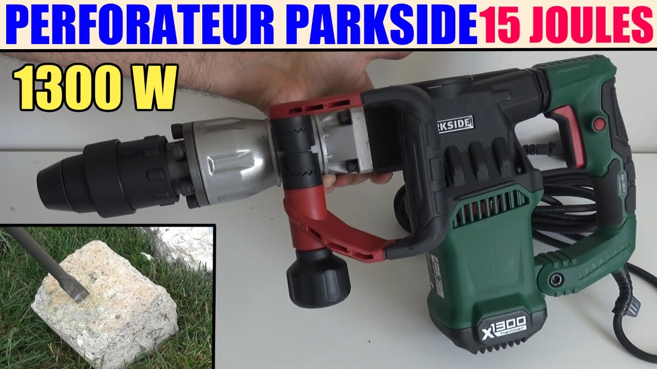 perforateur parkside lidl pah 1300 burineur demolition