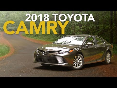 2018 Toyota Camry Review - First Drive