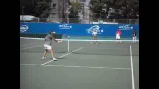 サマンサ・ストサ-と土居美咲のボレ-ストロ-ク HP Open