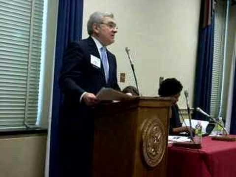 John Palafoutas Opens the Nov. 8, 2007, Task Force...