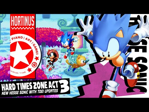 ✪ Hard Times Zone Act 3 | Hesse Sonic Mania Concept Mod (13K Sub Special) ✪